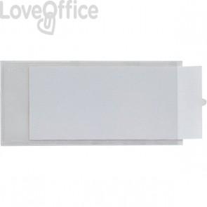 Portaetichette adesive IesTI Sei Rota - Con etichette - 3,2x8,8 cm - 321112 (conf.10)