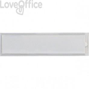 Portaetichette adesive IesTI Sei Rota - Senza etichette - 3,2x8,8 cm - 320412 (conf.100)