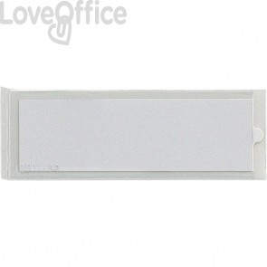 Portaetichette adesive IesTI Sei Rota - Con etichette - 3,2x12,4 cm - 321113 (conf.10)