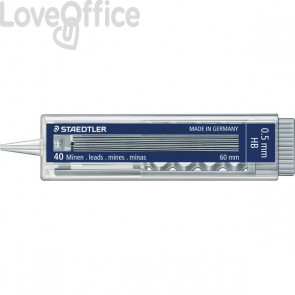 Staedtler Mine sottili HB per portamine - Mars Micro Carbon - 0,5 mm (conf.40)