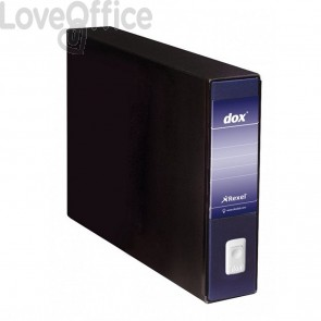 Registratore Dox 10 - Dorso 8 - 46x31,5 cm - blu