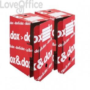 Scatola archivio Dox&Dox in cartone - 17x35x25 cm (conf.12)