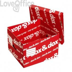 Scatola archivio Dox&Dox in cartone - 42x29x39,5 cm (conf.12)