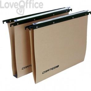 Cartelle sospese Linea Cartesio Eco-logica Bertesi - per cassetto - 38 cm - V (conf.100)