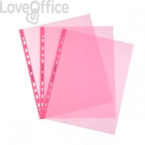 Buste a foratura universale Favorit Art - 22x30 cm - liscio - Rosa (conf.25)