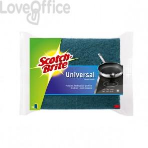 Spugna per stoviglie Scotch-Brite® antigraffio - gialla/blu - 130x75x40 mm - 56573/50525 (conf.2)