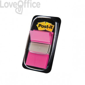 Segnapagina Post-it® Index 680 - rosa vivace (conf.50 segnapagina)
