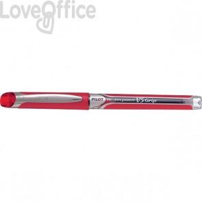 Roller V5 Grip Pilot - rosso - ad ago 0,5 mm - 006732