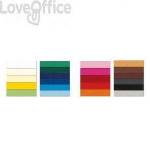 Cartoncini colorati PRISMA 220 Favini - 70x100 cm - caffè - A33L0A1 (conf.10)