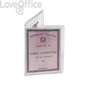 Porta carta d'identità Favorit - 16x11,5 cm - 1 spazio (conf.50)