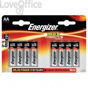 Energizer Alkaline Max AA x 8 - AA - stilo - E300112400 (conf.8)