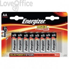 Energizer Alkaline Max AA x 12 - AA - stilo - E300112600 (conf.12)