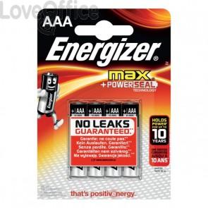 Pile Energizer Alkaline Max  - AAA - ministilo  - E300124200 (conf.4)