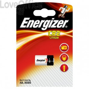 Pila al litio ENERGIZER - CR2 - Lithium Photo BP1 - E300776302