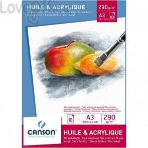 Blocchi per olio e acrilico Canson - 290 g/mq - A3
