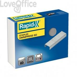 Punti 26/8+ Omnipress per cucitrice da tavolo pinzatrice Rapid Omnipress S60 Rapid - 5000561 (conf.1000)