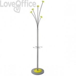 Appendiabiti da terra Alba - Festy - verde - 5 - 187 cm - 38 cm - PMFESTY2 verde