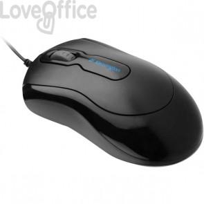 Mouse-in a box con cavo Kensington - nero - PLUG & PLAY - K72356EU