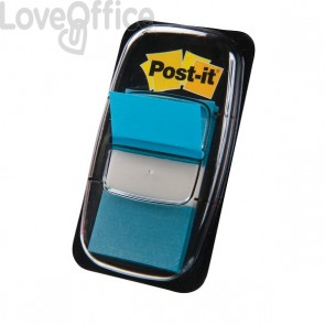 Segnapagina Post-it® Index 680 - blu vivace (conf.50 segnapagina)
