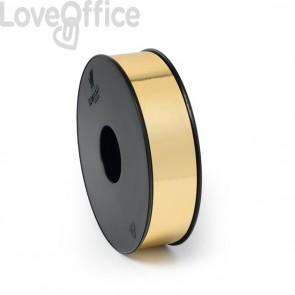Nastro in bobina per regali Brizzolari - metallizzato - 30 mm x 100 m - 6870 (oro) (conf.10)