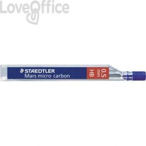 Staedtler Mine sottili HB per portamine - Mars Micro Carbon - 0,5 mm (conf.12)