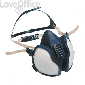 Respiratore 4277 3M - vapori organici, vapori norganici, gas acidi , polveri - 30269