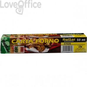 Carta da forno in rotolo - 50 m - 37020