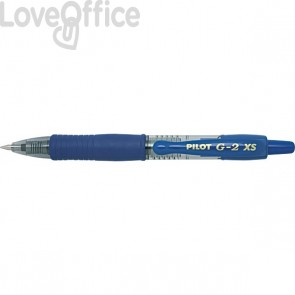 Penna a sfera a scatto Pixie Pilot - blu - 0,7 mm - 001411