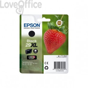 Originale Epson C13T29914010 Cartuccia alta capacità ink blister RS Claria Home T29XL/FRAGOLA - 11.3 ml