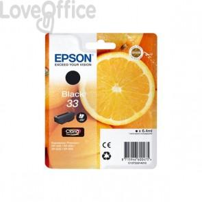 Originale Epson C13T33314010 Cartuccia ink pigmentato blister RS Claria Premium T33/ARANCIA - 6.4 ml
