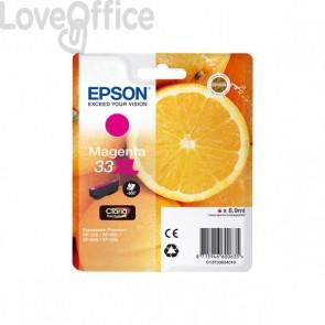 Originale Epson C13T33634010 Cartuccia alta capacità blister RS Claria Premium T33XL/ARANCIA - 8.9 ml