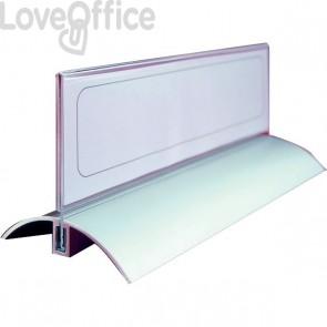 Portanome da tavolo Desk Presenter De Luxe Durable - 6,1x21 cm - 8202-19 (conf.2)