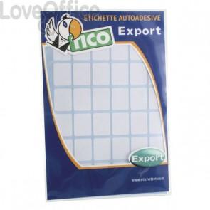Etichette Export Tico - 118x70 mm - 2 et/ff - E-11870 (conf.10 fogli)