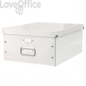 Scatola archivio A3 grande bianca Click & Store Leitz - 36,9x48,4x20 cm