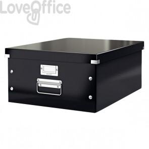 Scatola archivio A3 grande nera Click & Store Leitz - 36,9x48,4x20 cm