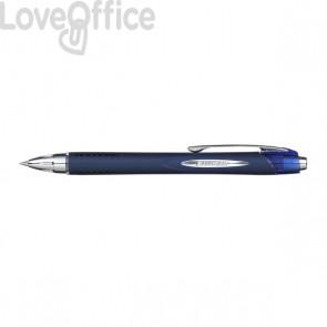 Penna a sfera Jetstream a scatto Uni-Ball - blu - 0,7 mm - M SXN217 B