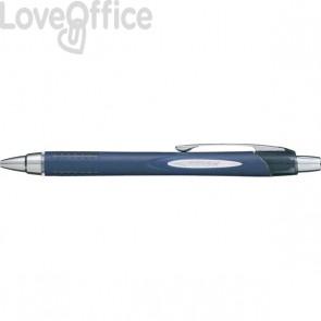 Penna a sfera Jetstream a scatto Uni-Ball - nero - 0,7 mm - M SXN217 N