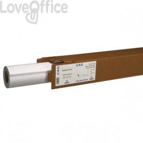 Rotolo Carta Plotter Canson - Carta opaca su un lato - 140 g/mq - 91,4cmx30m -140 g/mq - Ø anima 50mm - bianco