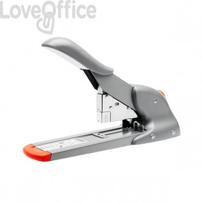 Cucitrice alti spessori Fashion HD110 Rapid - grigio/arancione - 21080815