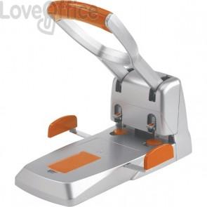Perforatore Supreme HDC 150 Rapid - 2 fori - 150 fogli - grigio/arancione - 23000600