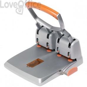 Perforatore Supreme HDC 150 Rapid - 4 fori - 150 fogli - grigio/arancione - 23223100