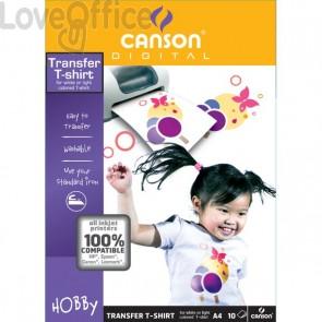 T-Shirt transfer Canson - A4 - 140 g/mq - 204567480 (conf.10)