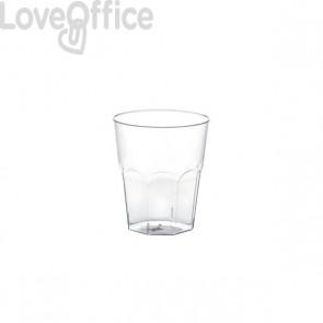 Bicchieri trasparenti in polipropilene DOpla - 200 cc - 02361 (conf.100)