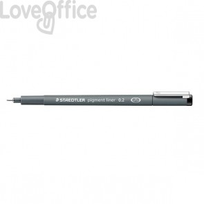 Fineliner a punta graduata pigment liner Staedtler - 0,1 mm