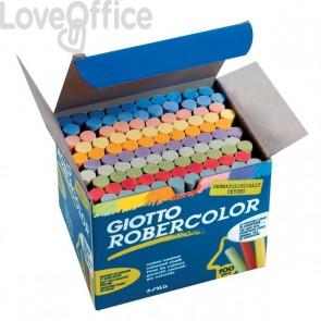 Gessetti Robercolor Giotto - 80 mm - colorato - 539000 (conf.100)