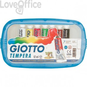 Tubetti tempera Giotto - 12 ml - 303000 (conf.7)