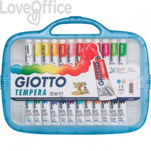 Tubetti tempera Giotto - 12 ml - 305000 (conf.24)
