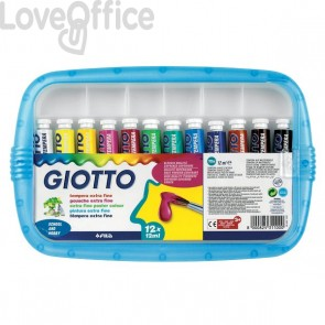 Tubetti tempera Giotto - 21 ml - 327000 (conf.5)