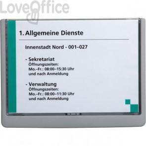 Targhe Click Sign Durable - A5 - grafite - 4866-37
