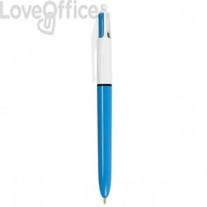 Penna a sfera 4 Colours™ Bic - 4 colori di scrittura - 1 mm - 801867